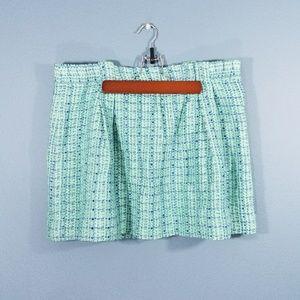 J Crew boucle tweed skirt